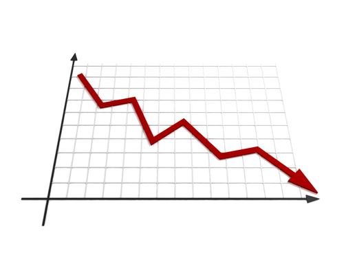 Shutterstock_DownwardGraph
